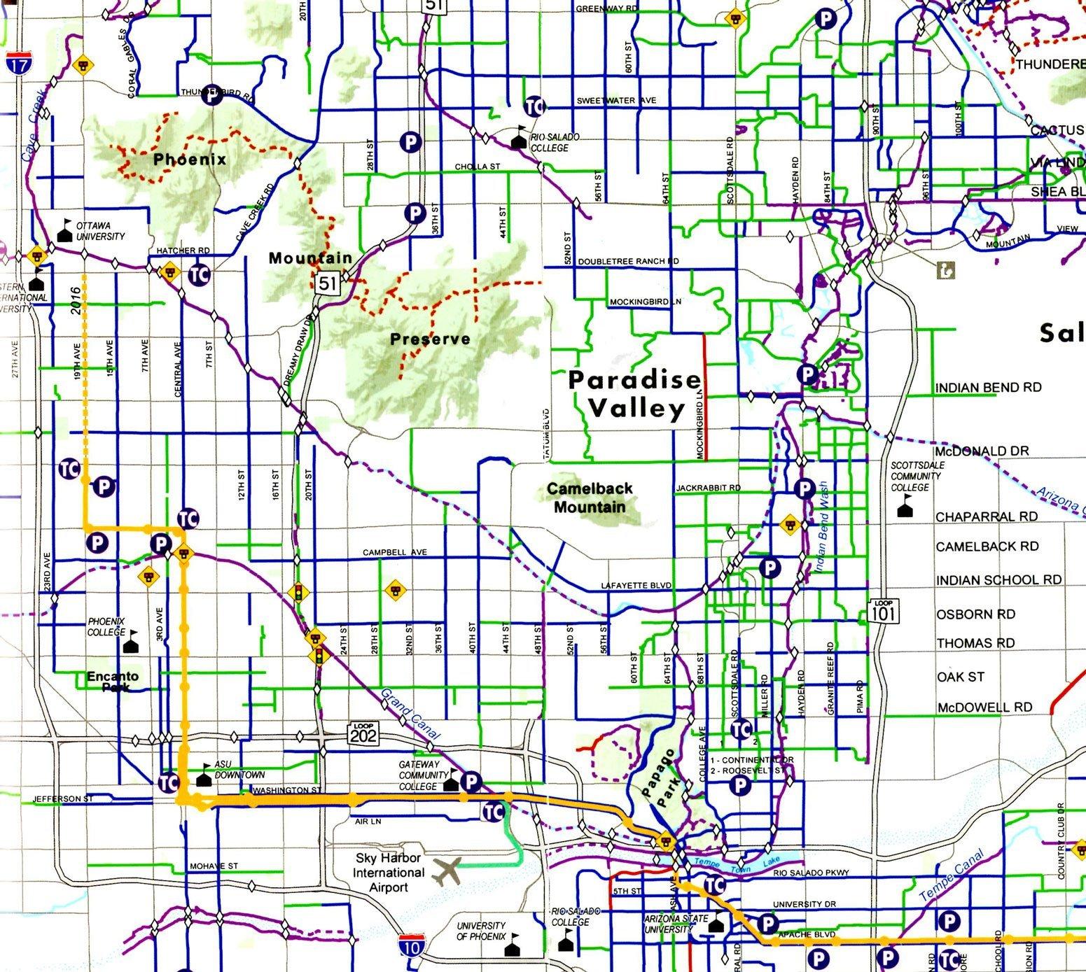 WEB Bike Map